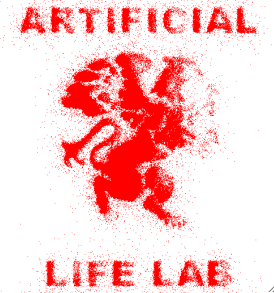 Artificial Life Lab logo drawn by Packard's Bugs